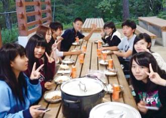 中学生の生徒募集について 写真